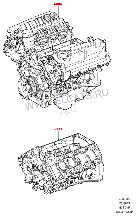 5.0L OHC SGDI NA V8 PETROL; 5.0L OHC SGDI NA V8 PETROL - AJ133 Discovery 3