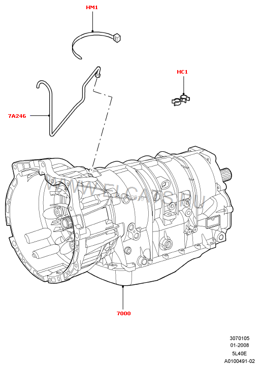4r44e Transmission Shift Problem